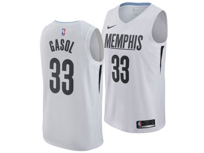 Memphis Grizzlies Marc Gasol Nike NBA Men's 2017 City Swingman Jersey