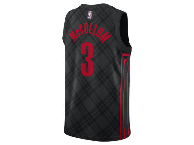 Portland Trail Blazers C. J. McCollum Nike NBA Men's 2017 City Swingman Jersey