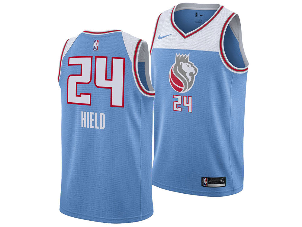 Sacramento Kings Buddy Hield Nike NBA Men s 2017 City Swingman Jersey  f8816e25a267