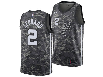 San Antonio Spurs Kawhi Leonard Nike NBA Men's 2017 City Swingman Jersey