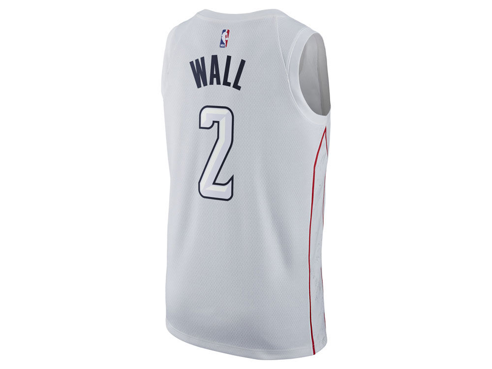 Washington Wizards John Wall Nike NBA Men s 2017 City Swingman Jersey  b1ee83ec6