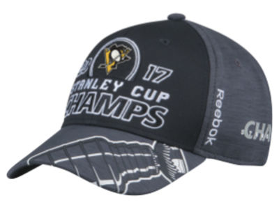 Pittsburgh Penguins 2017 NHL Youth Stanley Cup Locker Room Champ Cap