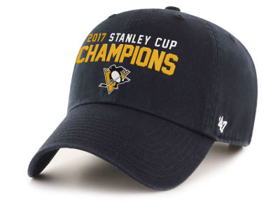 Pittsburgh Penguins '47 2017 NHL Stanley Cup Champ CLEAN UP Cap