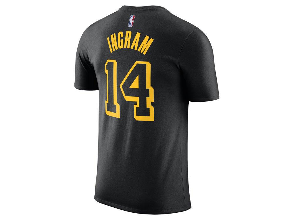 Los Angeles Lakers Brandon Ingram Nike NBA Men s City Player T-Shirt ... fb111dc7a