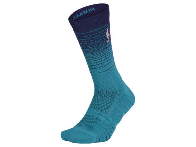 Charlotte Hornets Nike NBA Men's Elite Quick Crew Socks
