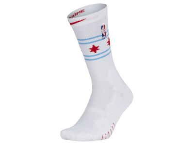 Chicago Bulls Nike NBA Men's Elite Quick Crew Socks