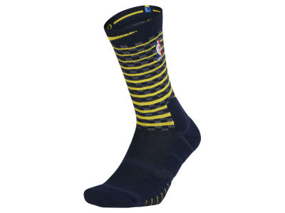 Indiana Pacers Nike Men's Elite Quick Crew Socks