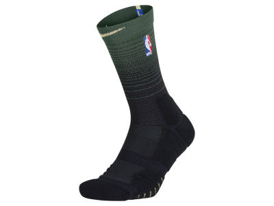 Milwaukee Bucks Nike NBA Men's Elite Quick Crew Socks