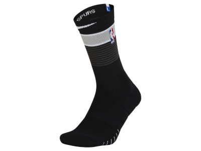 San Antonio Spurs Nike Men's Elite Quick Crew Socks