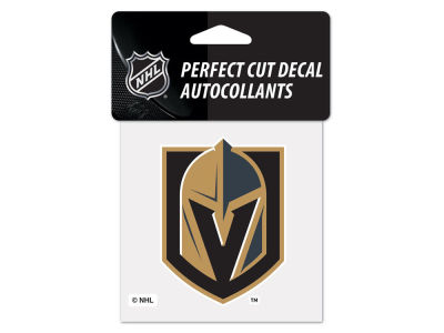 Vegas Golden Knights 4x4 Die Cut Decal Color