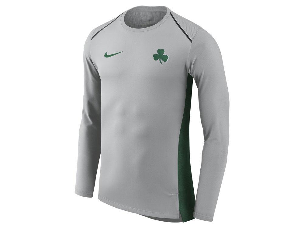 Boston Celtics Nike NBA Men s City Edition Shooting Shirt  b8a646dc2