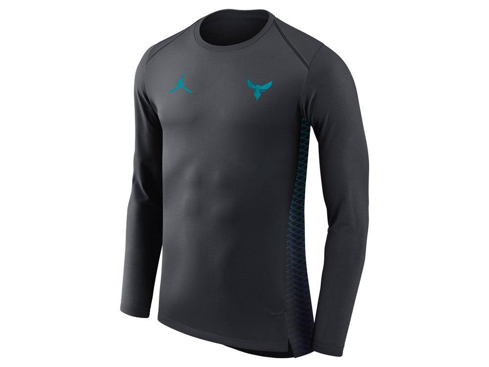 Charlotte Hornets Nike NBA Men s City Edition Shooting Shirt  09af15b4e