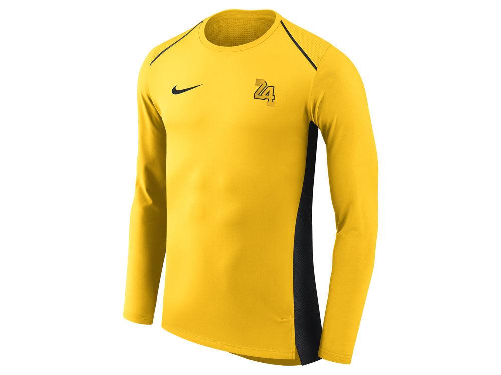 Los Angeles Lakers Nike NBA Men s City Edition Shooting Shirt  2a3b92238