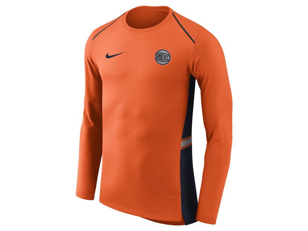 New York Knicks Nike NBA Men s City Edition Shooting Shirt  251fbb03f