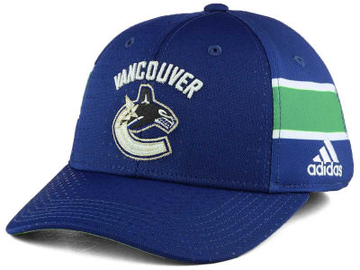Vancouver Canucks adidas 2017 NHL Youth Draft Structured Flex Cap