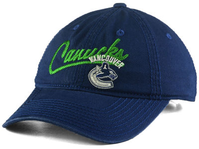 Vancouver Canucks adidas NHL Women's Slouch Adjustable Cap