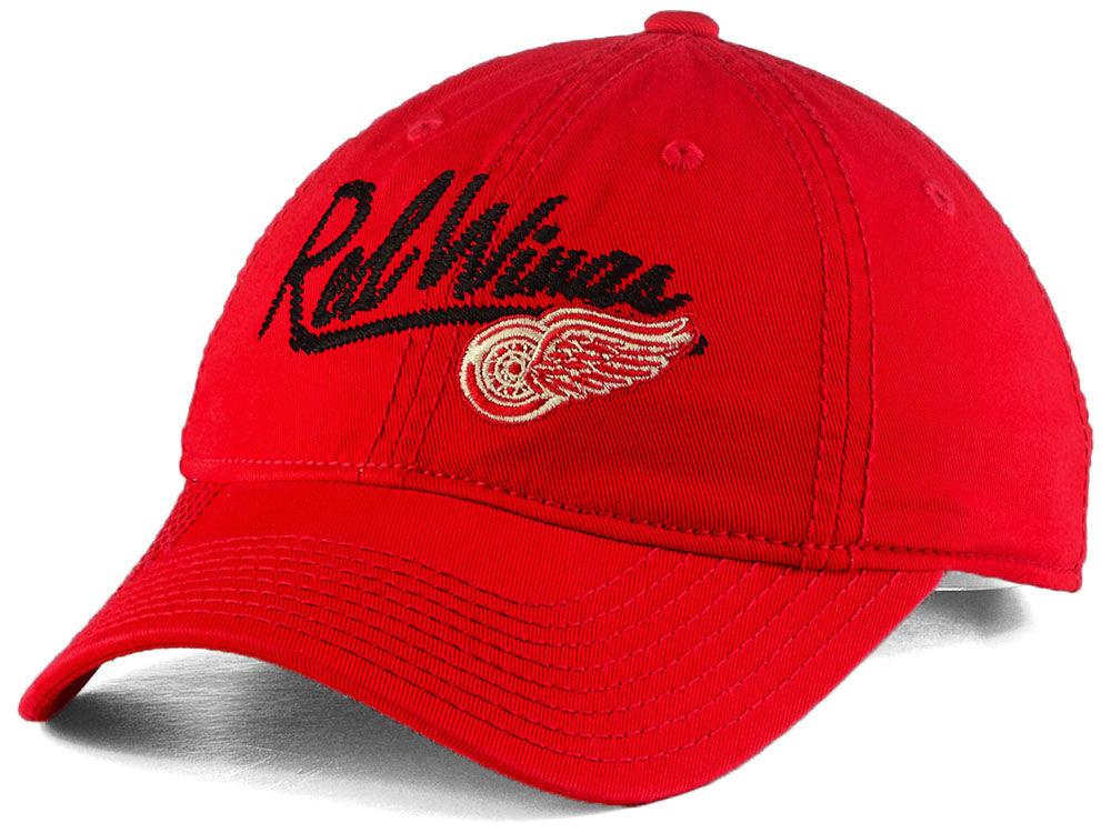 Detroit Red Wings adidas NHL Women s Slouch Adjustable Cap  6d9fa3390