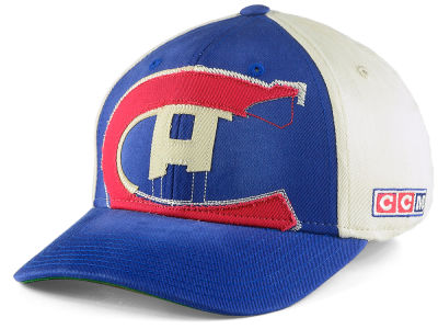 Montreal Canadiens CCM CCM NHL M892Z Structured Flex Cap