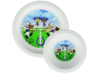 Indianapolis Colts Boelter Brands Plate & Bowl Set