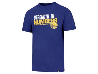 Golden State Warriors '47 NBA Men's Team Slogan T-shirt