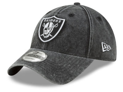 Oakland Raiders New Era NFL Italian Wash 9TWENTY Cap