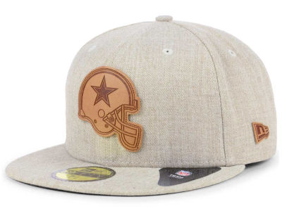 Dallas Cowboys New Era NFL Heathered Helmet 59FIFTY Cap