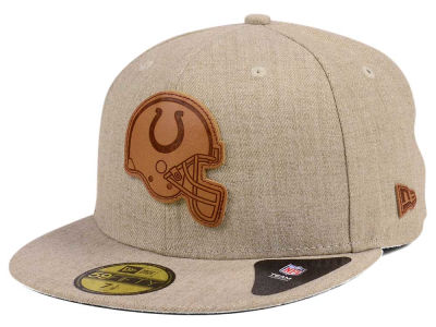 Indianapolis Colts New Era NFL Heathered Helmet 59FIFTY Cap