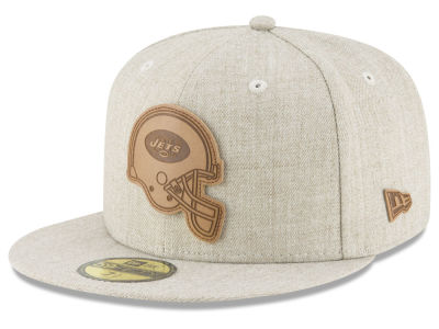 New York Jets New Era NFL Heathered Helmet 59FIFTY Cap
