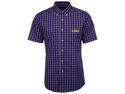 LSU Tigers Antigua NCAA Men's Endorse Button Down Shirt