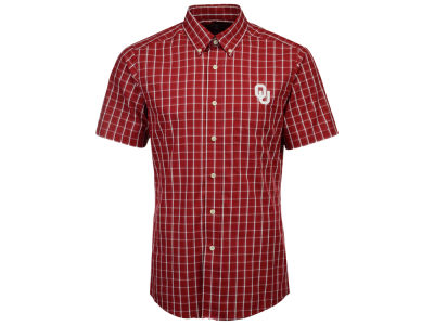 Oklahoma Sooners Antigua NCAA Men's Endorse Button Down Shirt