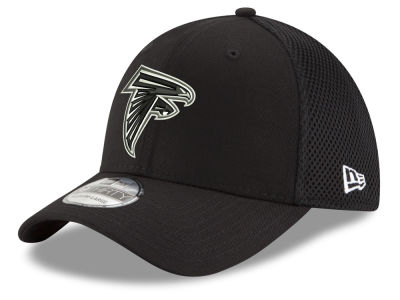 Atlanta Falcons New Era NFL Black & White Neo 39THIRTY Cap