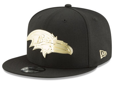 Baltimore Ravens New Era NFL O'Gold 9FIFTY Snapback Cap
