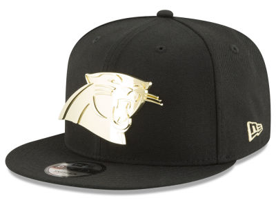 Carolina Panthers New Era NFL O'Gold 9FIFTY Snapback Cap