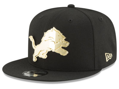 Detroit Lions New Era NFL O'Gold 9FIFTY Snapback Cap