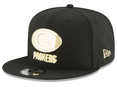 Green Bay Packers New Era NFL O'Gold 9FIFTY Snapback Cap