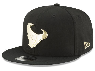 Houston Texans New Era NFL O'Gold 9FIFTY Snapback Cap