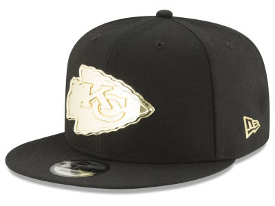 Kansas City Chiefs New Era NFL O'Gold 9FIFTY Snapback Cap
