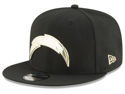 Los Angeles Chargers New Era NFL O'Gold 9FIFTY Snapback Cap