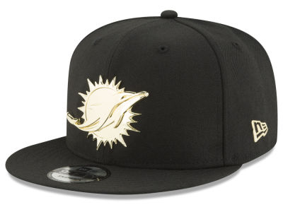 Miami Dolphins New Era NFL O'Gold 9FIFTY Snapback Cap