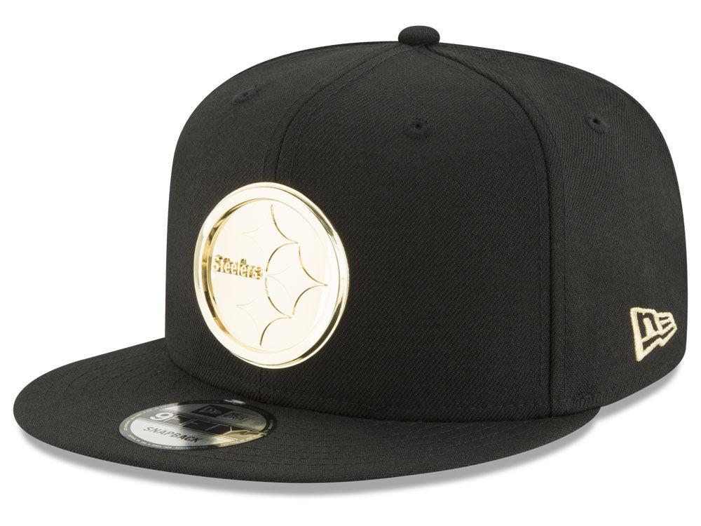 7894bb3cd8c Pittsburgh Steelers New Era NFL O Gold 9FIFTY Snapback Cap