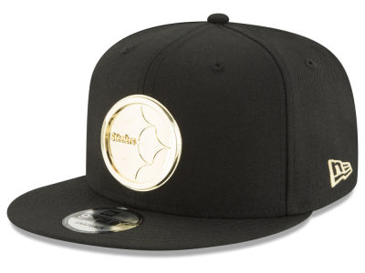 Pittsburgh Steelers New Era NFL O'Gold 9FIFTY Snapback Cap