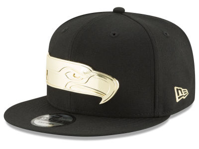 Seattle Seahawks New Era NFL O'Gold 9FIFTY Snapback Cap