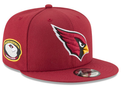 Arizona Cardinals New Era NFL Anniversary Patch 9FIFTY Snapback Cap