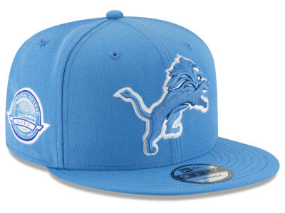 Detroit Lions New Era NFL Anniversary Patch 9FIFTY Snapback Cap