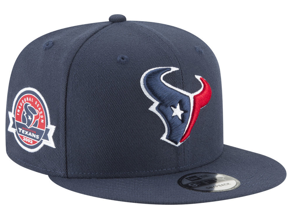 best loved 887b5 6d768 ... germany houston texans new era nfl anniversary patch 9fifty snapback cap  3bb71 a9b5f cheap gray navy houston texans 47 brand ...