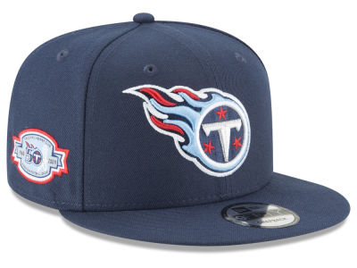 Tennessee Titans New Era NFL Anniversary Patch 9FIFTY Snapback Cap