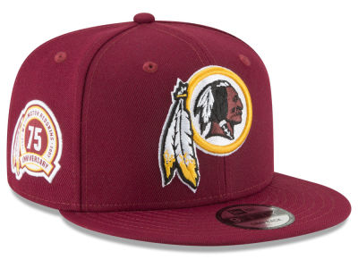 Washington Redskins New Era NFL Anniversary Patch 9FIFTY Snapback Cap