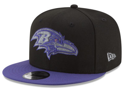 Baltimore Ravens New Era NFL Heather Pop 9FIFTY Snapback Cap