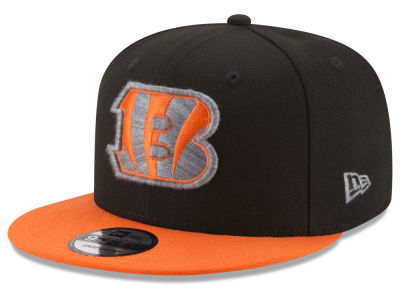 Cincinnati Bengals New Era NFL Heather Pop 9FIFTY Snapback Cap