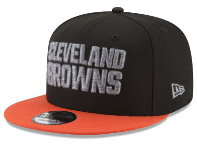 Cleveland Browns New Era NFL Heather Pop 9FIFTY Snapback Cap